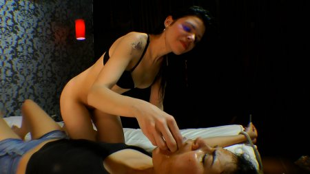 Scat Swallow - Hard Facesitting By Karina Cruel