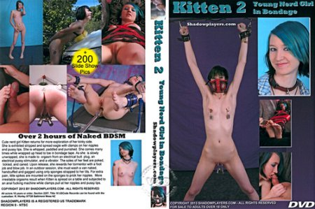 Kitten 2 - Young Nerd Girl In Bondage (2013)