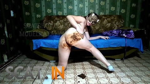 ModelNatalya94 - Olga's big ass in shit (FullHD 1080p)